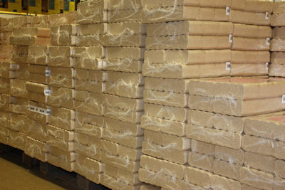 Gepresstes Holz