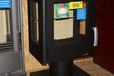 Neuer offener Holzofen für Stückholz, Scheitholz Ofen