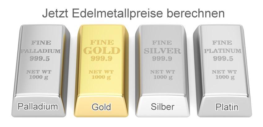 Einfacher Silber, Kupfer, Gold und Platinpreisrechner