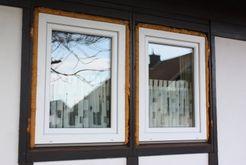Sanierung neue Kunststofffenster
