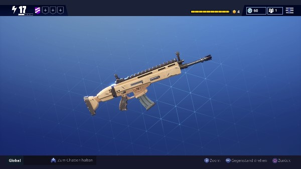 Fortnite Waffe SCAR Sturmgewehr