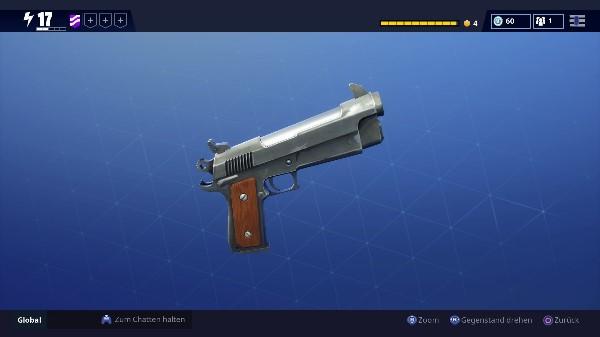 Fortnite Waffe Pistole