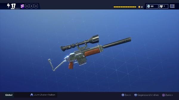 Waffe Fortnite Sniper halbautomatisch