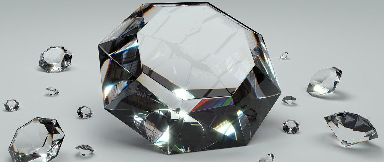 Foto Diamant bzw. Brillant Preisrechner