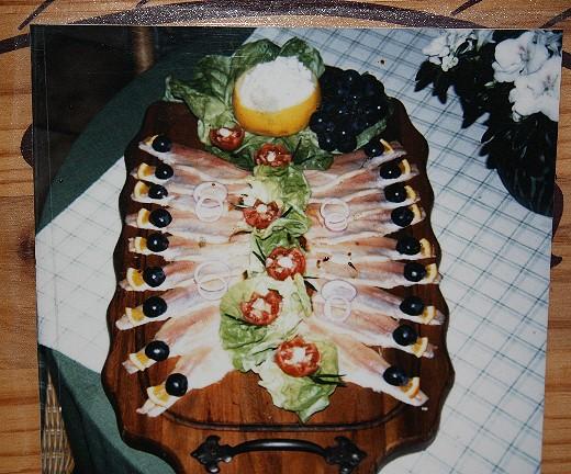 Partyservice Fischplatte Buffet